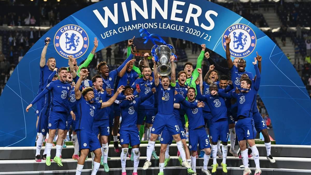 Ліга чемпіонів 2020/21 – хто переможець: Манчестер Сіті або Челсі