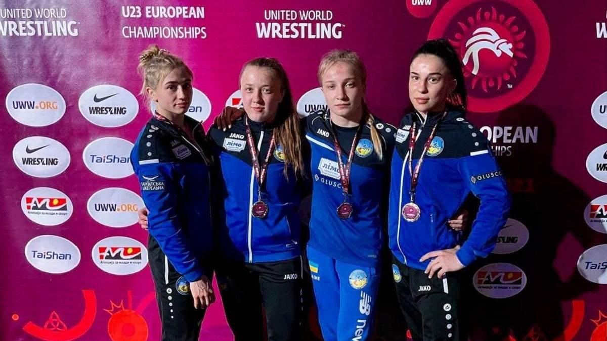 Як українські борчині розірвали чемпіонат Європи U-23 – відео