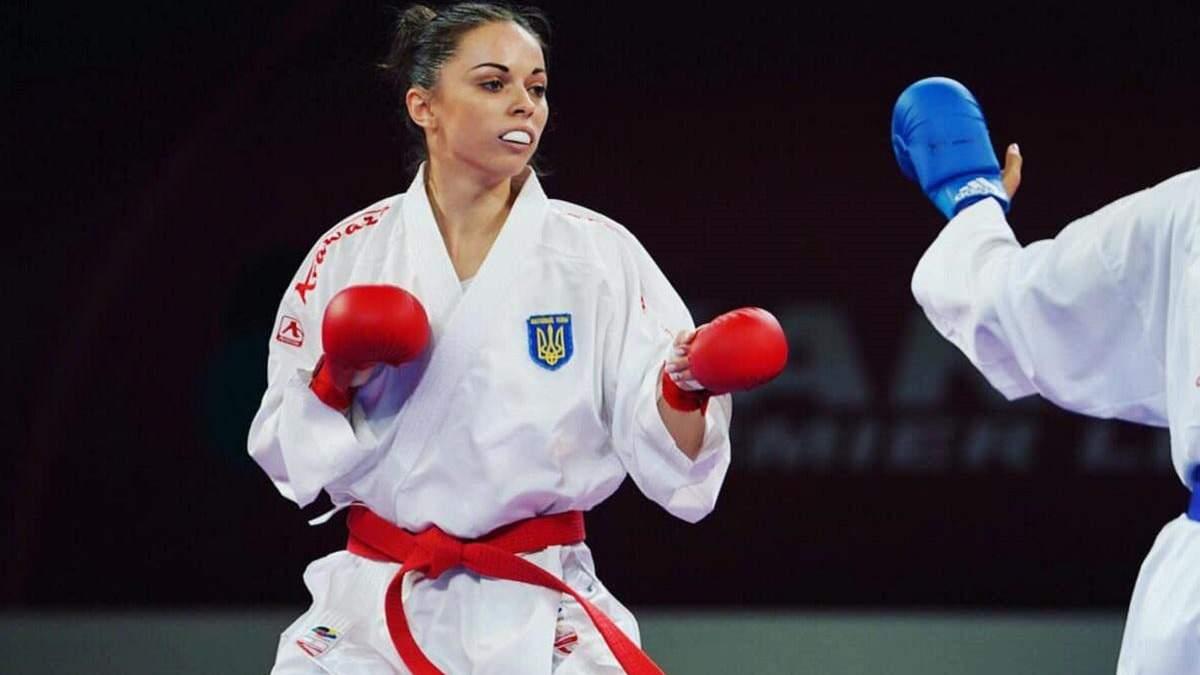 Украинка Екатерина Кривая – бронзовый призер Европы по карате