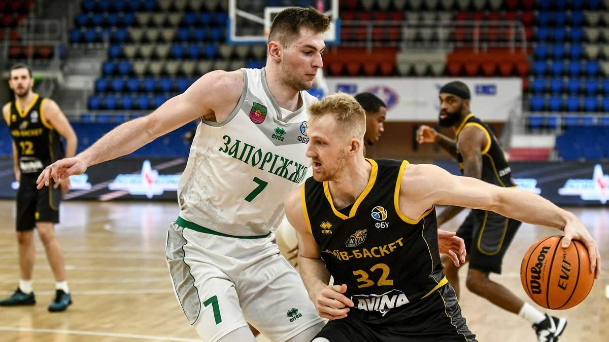 Київ-Баскет розгромив Запоріжжя в першому матчі півфінальної серії: відео