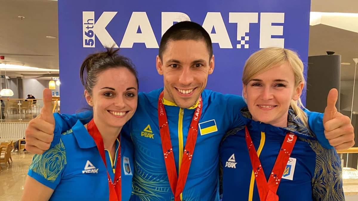 Предолимпийские эмоции: почему украинские каратисты воспринимают медали Евро сдержанно