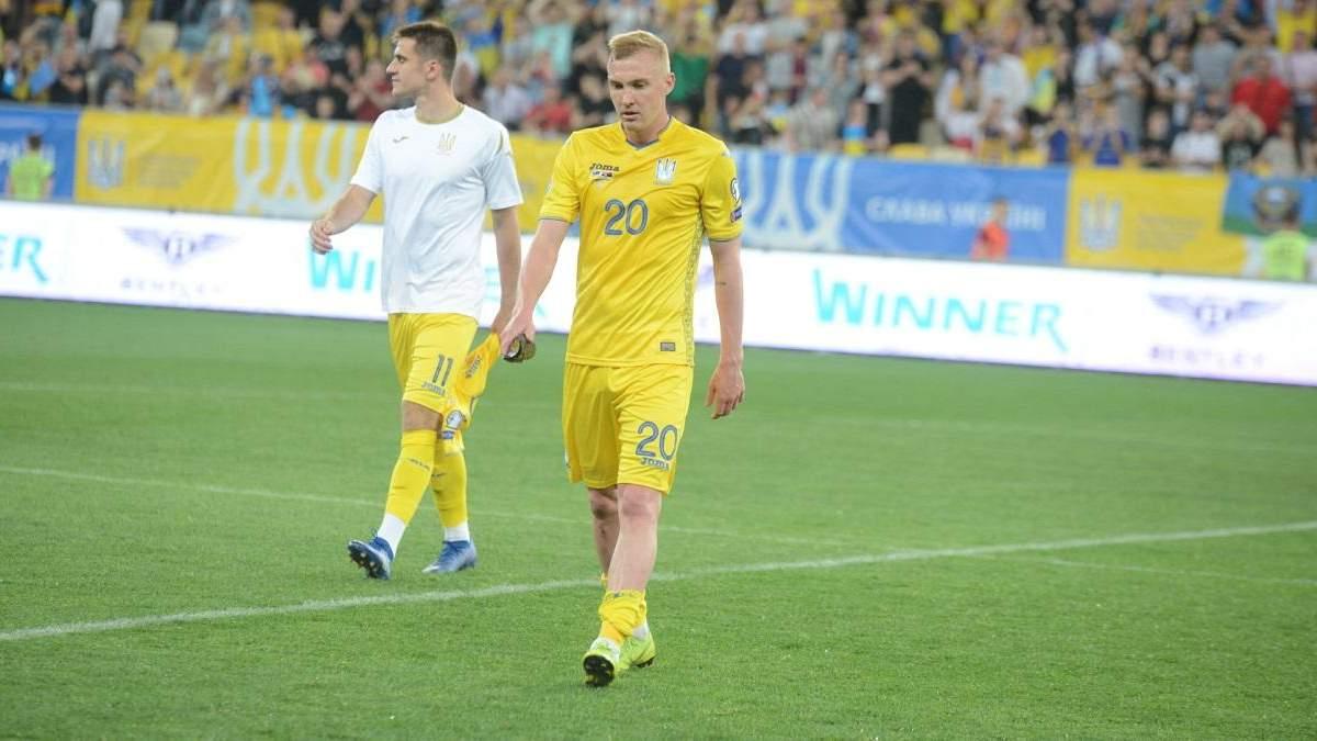 Коваленко та Коноплянка не зіграють за збірну України на Євро-2020