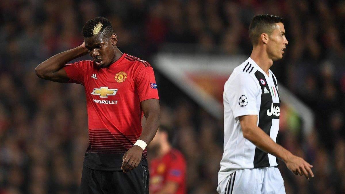 Роналду на Погба: Ювентус і Манчестер Юнайтед затіяли грандіозний обмін