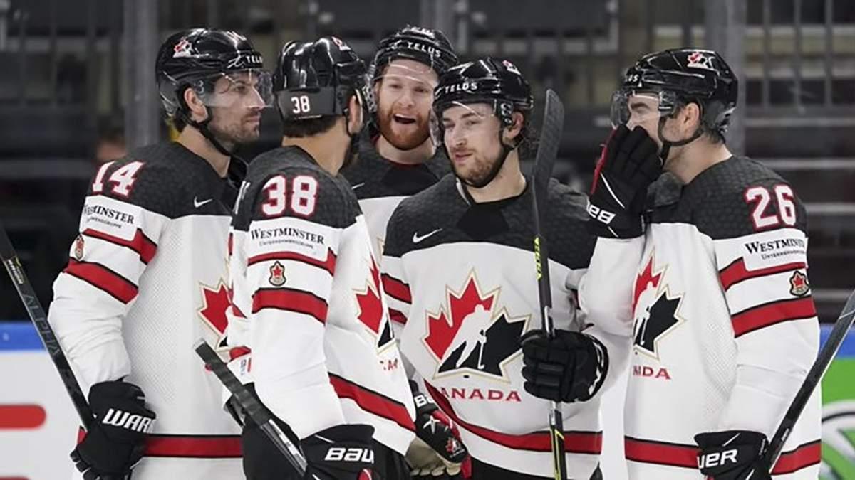 ЧС з хокею-2021: Канада знищила Італію, Швейцарія розгромила Білорусь