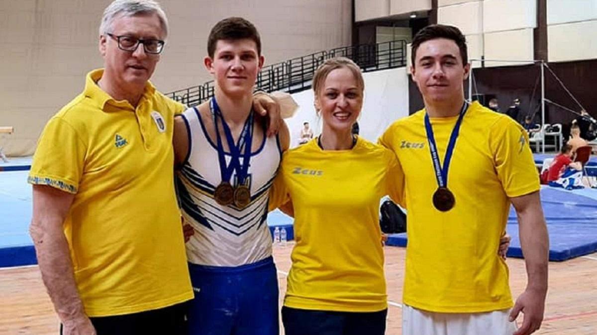 Українці взяли три медалі Кубку світу зі спортивної гімнастики