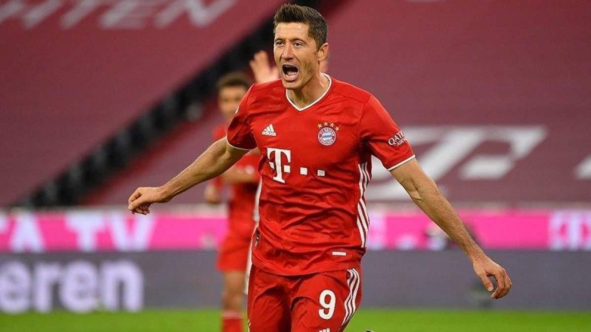 Лідер Баварії Левандовський натякнув, що готовий покинути Мюнхен