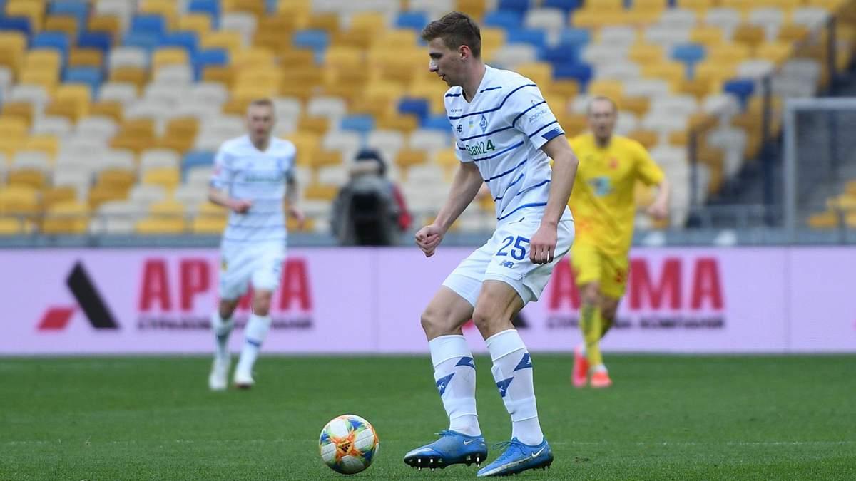Динамо не отримувало від Челсі запит про трансфер Забарного