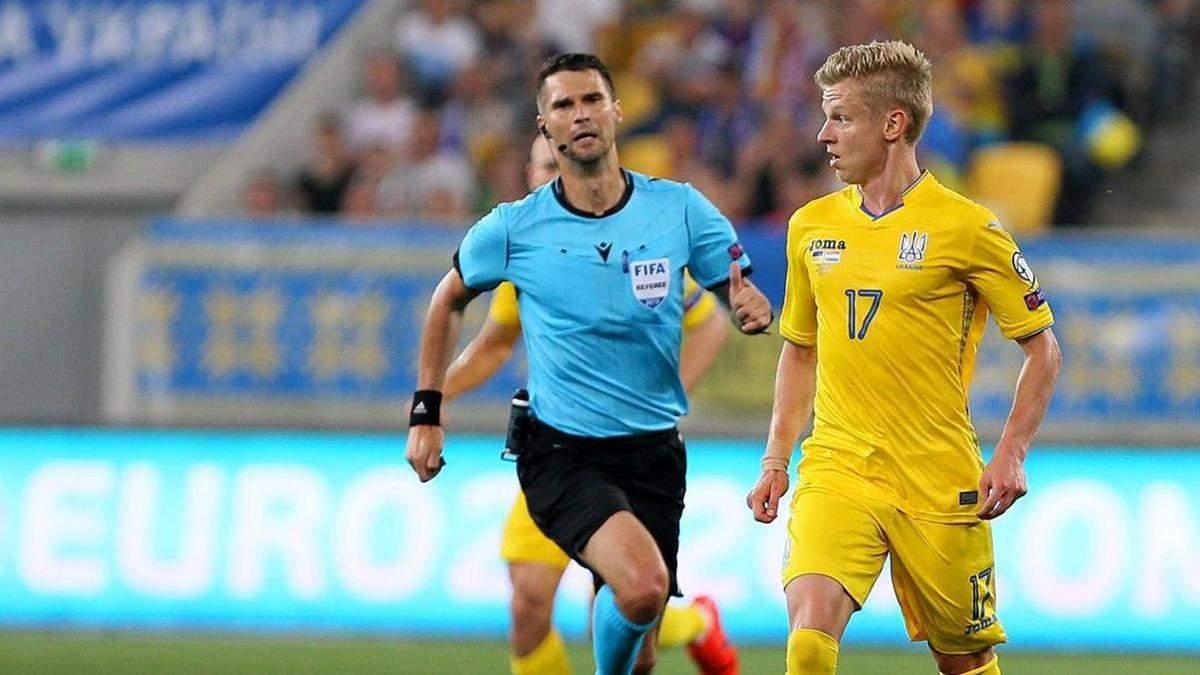 Пообещал забить жене, – Зинченко о пенальти в матче с Кипром