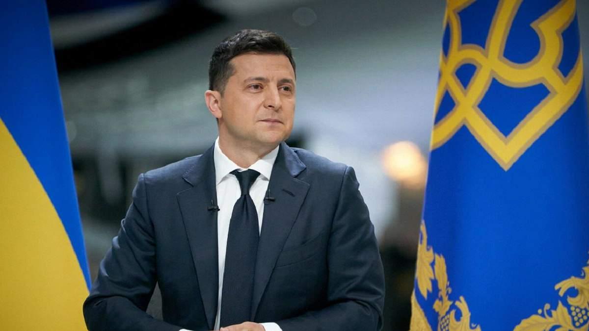 Зеленський приміряв форму збірної України із символічним 95 номером