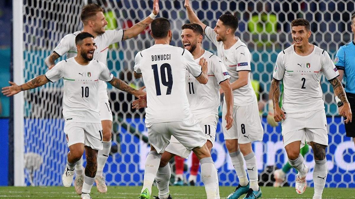 Туреччина - Італія - результат, рахунок матчу Євро 2020
