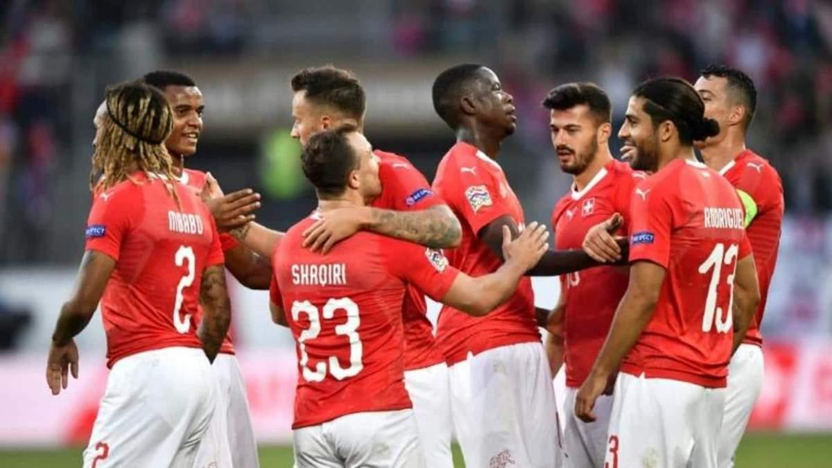 Уельс – Швейцария – прогноз на матч Евро 2020