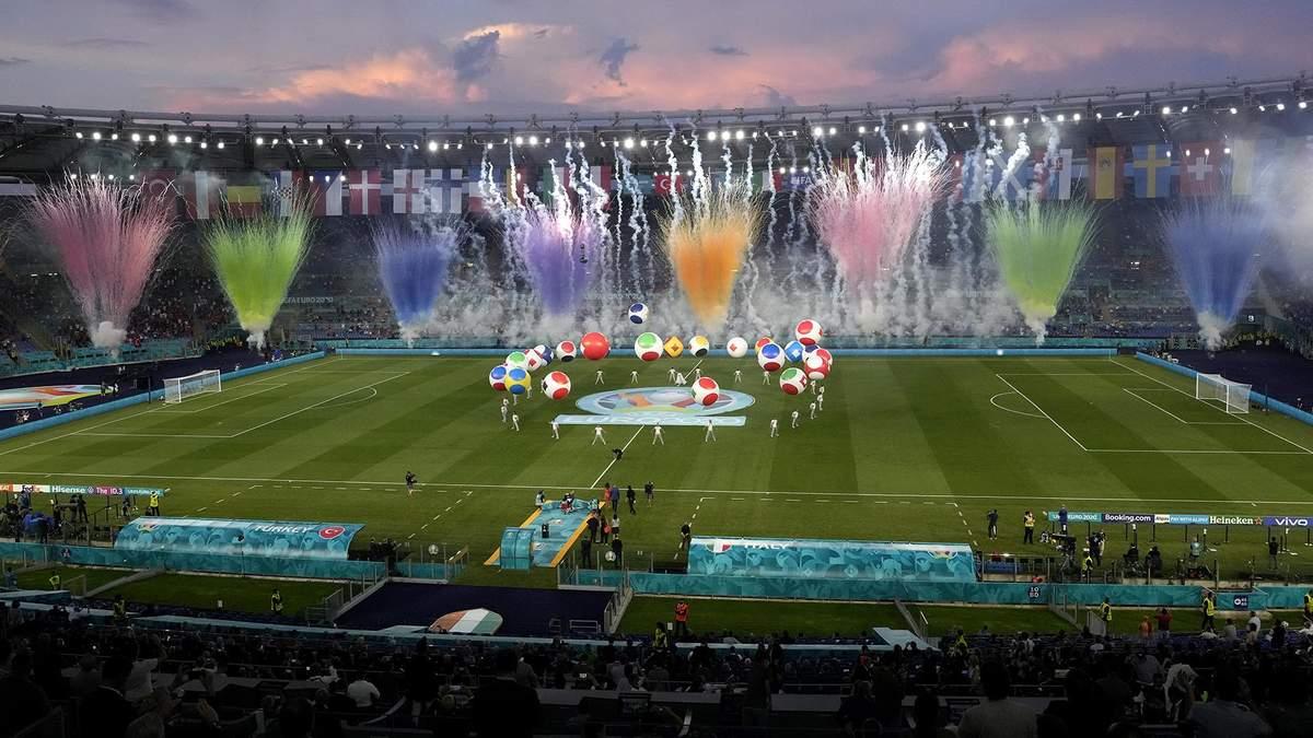 Церемония открытия Евро 2020 – фото, видео