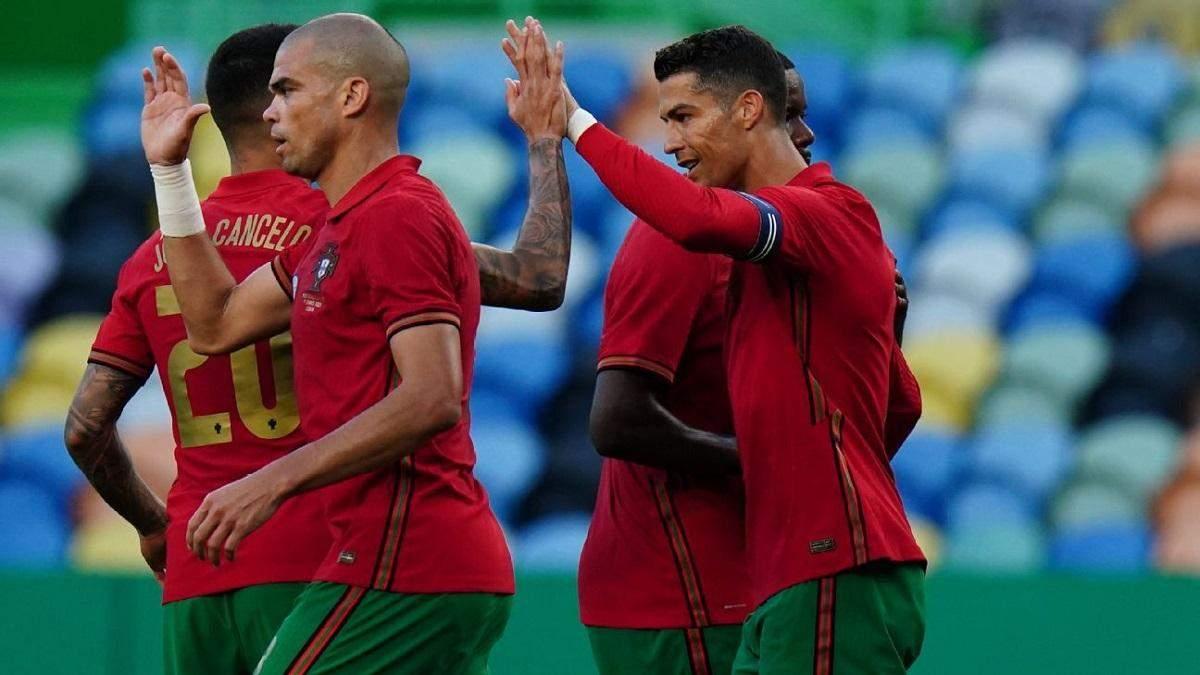 Португалія – Ізраїль – результат і огляд матчу 9 червня 2021