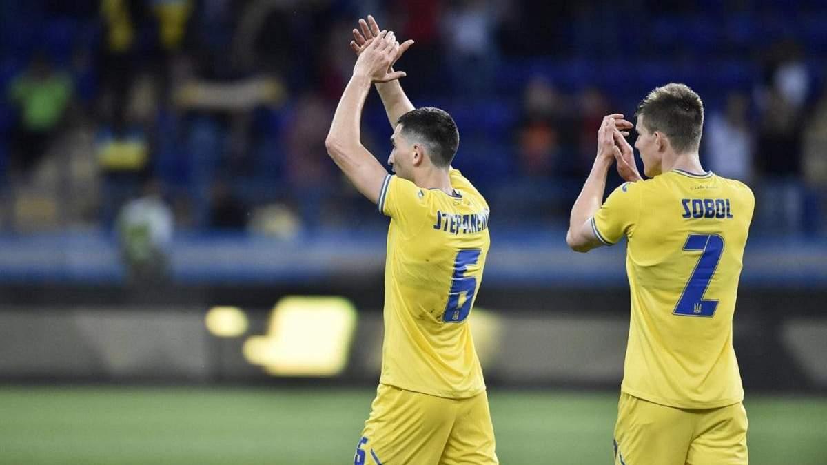 Степаненко заценил форму сборной с силуэтом и лозунгом Слава Украине