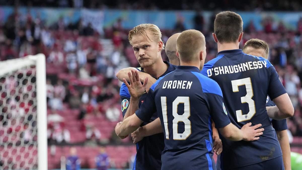 Данія - Фінляндія - результат, рахунок матчу Євро 2020