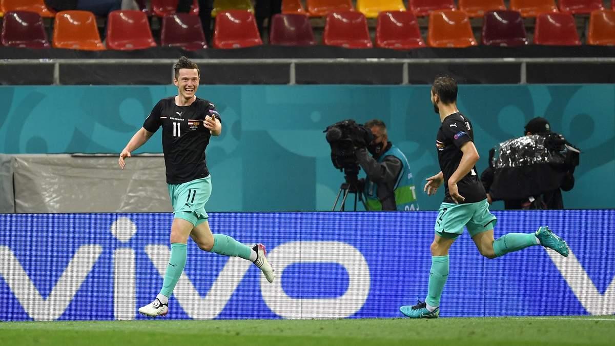 Австрия – Северная Македония – результат, счет матча Евро 2020