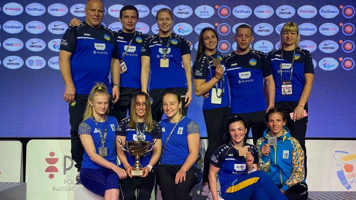 Українські борчині здобули ще 4 медалі на Poland Open
