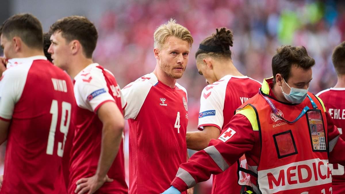 Герой футбольного дня: капитан сборной Дании Симон Кьер и его спасение Кристиана Эриксена