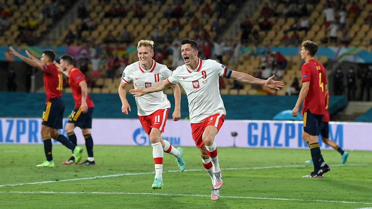 Іспанія – Польща – результат, рахунок матчу Євро 2020