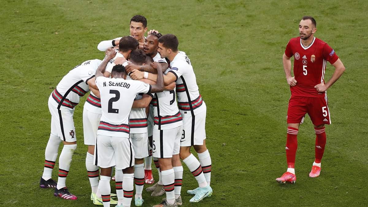 Угорщина - Португалія - результат, рахунок матчу Євро 2020