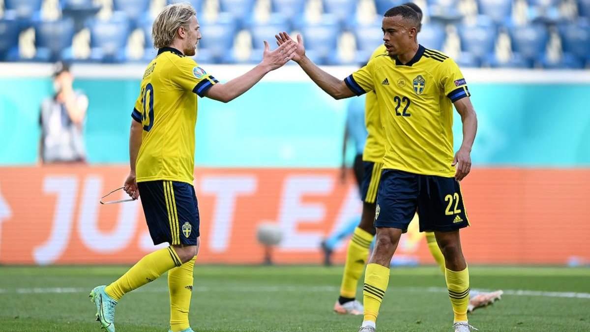 Швеция – Словакия – результат, счет матча Евро 2020