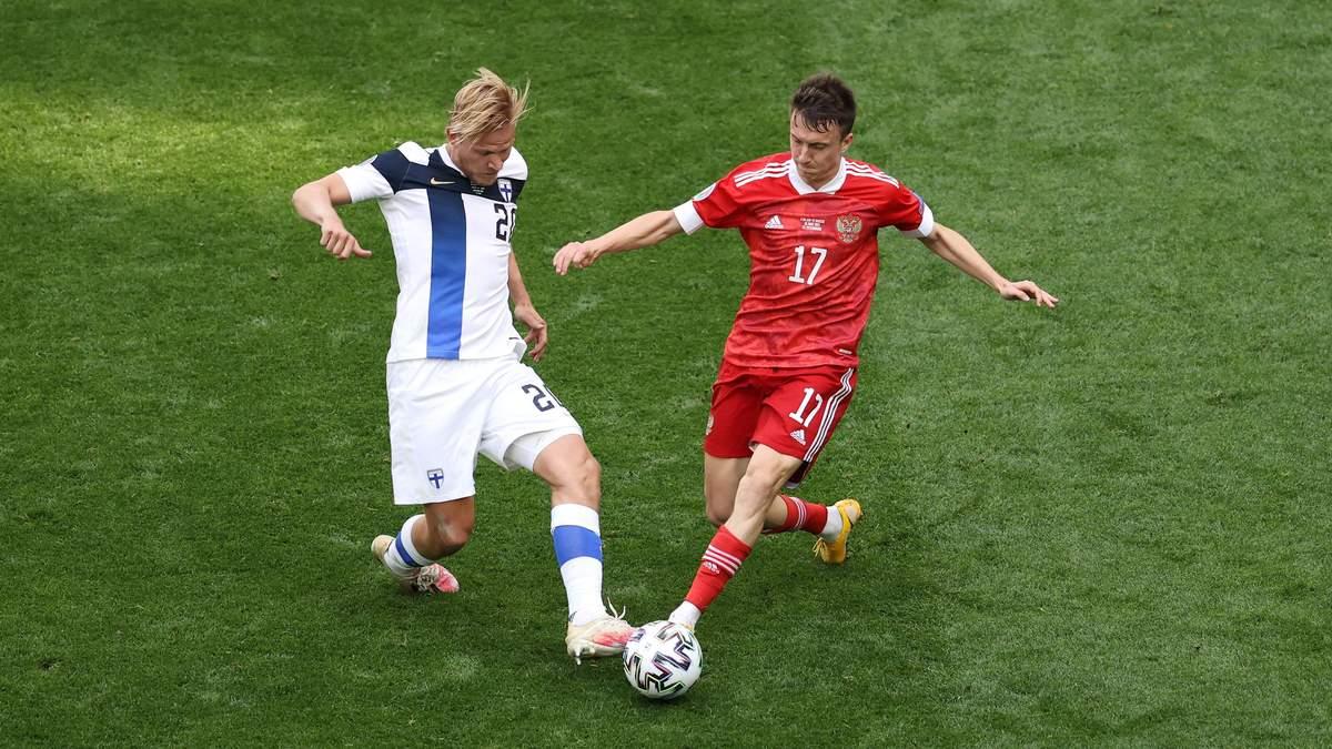 Фінляндія - Росія - результат, рахунок матчу Євро 2020