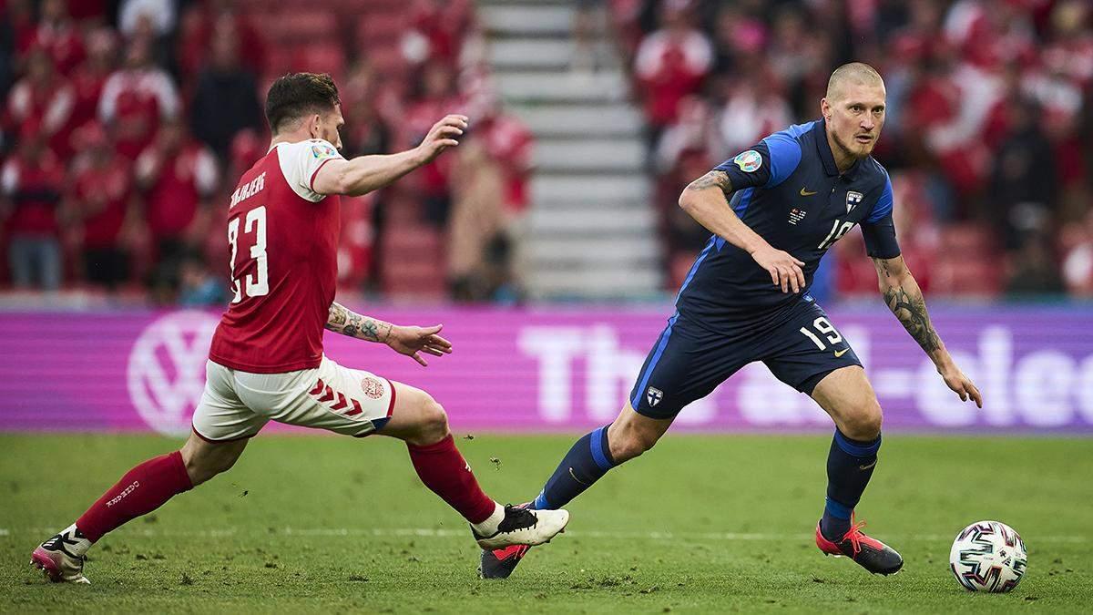 Наша мета – виграти, – фінський футболіст про матч з Росією на Євро