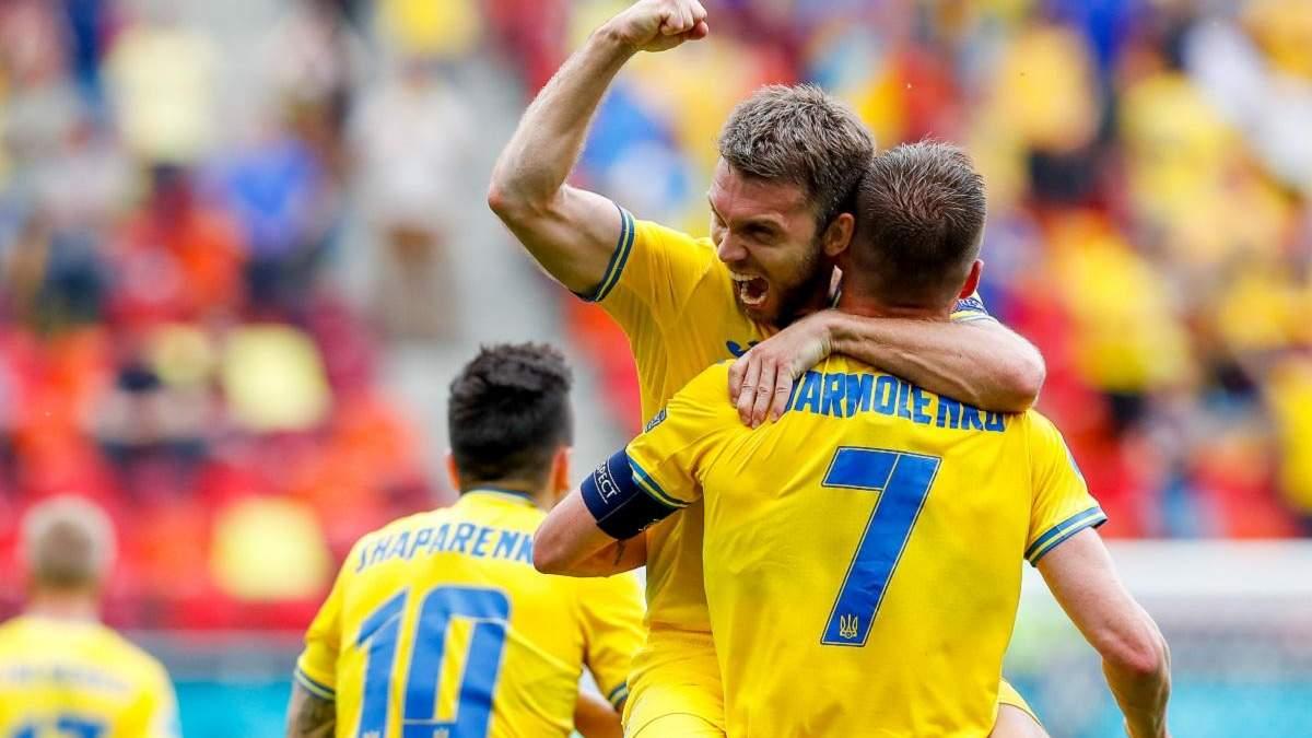 Украина – Северная Македония – результат, счет матча Евро 2020