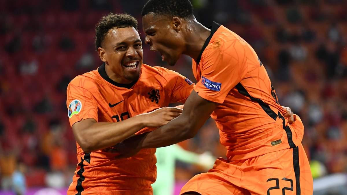 Нидерланды – Австрия – результат, счет матча Евро 2020