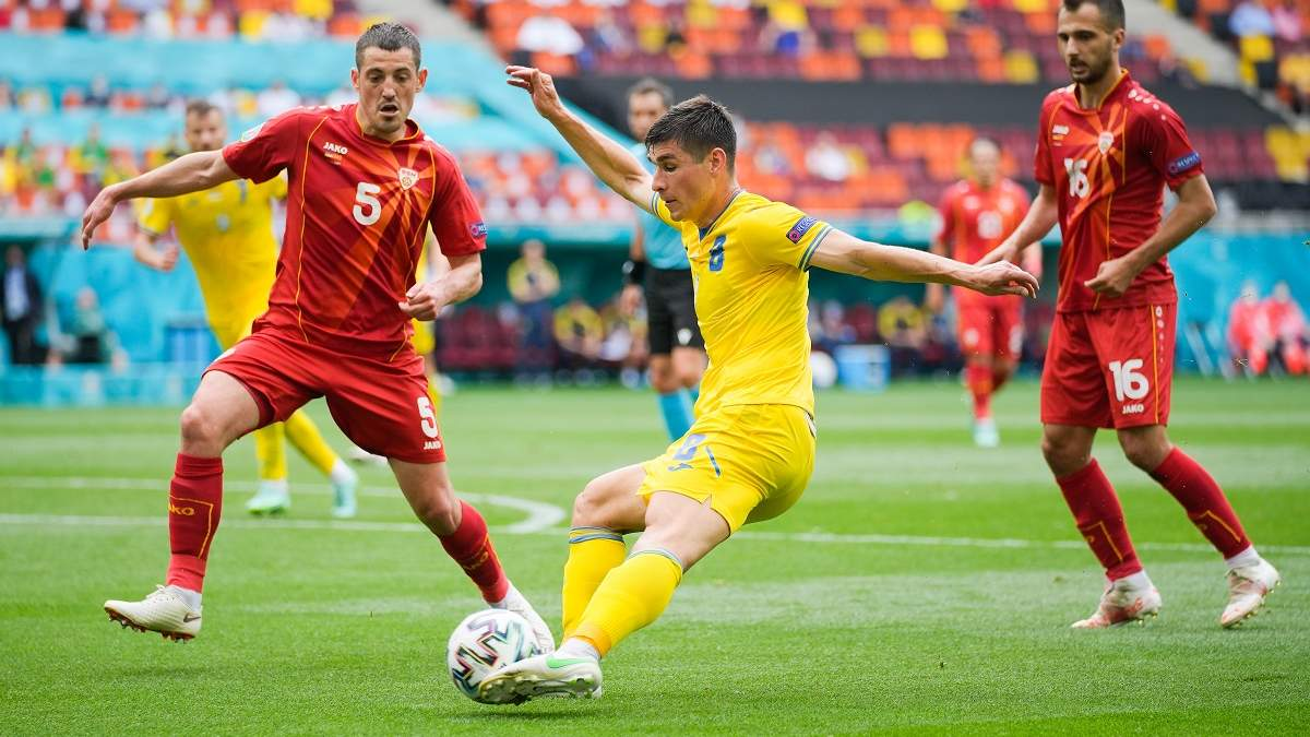 Малиновский не реализовал пенальти в встречи с Северной Македонией
