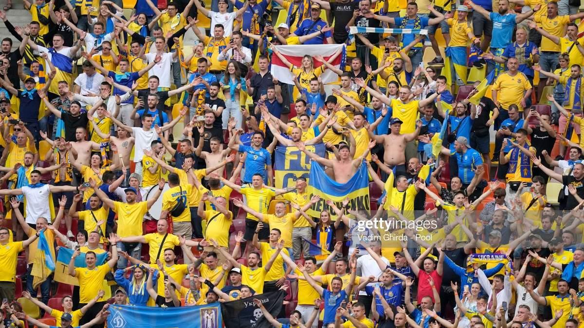 Українські гравці емоційно подякували вболівальникам після перемоги