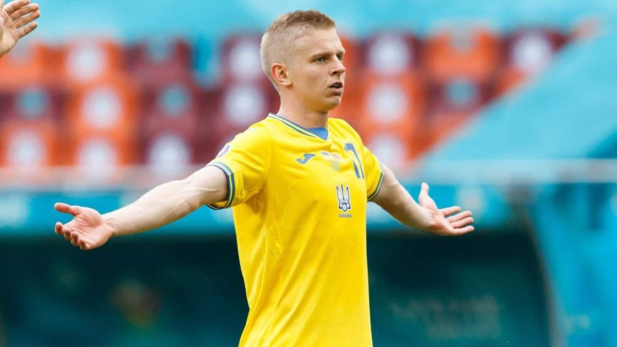 Тренери збірної України отримували гроші за ігровий час Зінченка