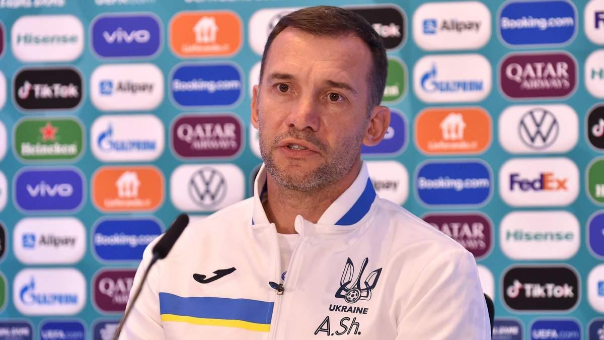 Украина и Австрия не будут играть на ничью, – Шевченко
