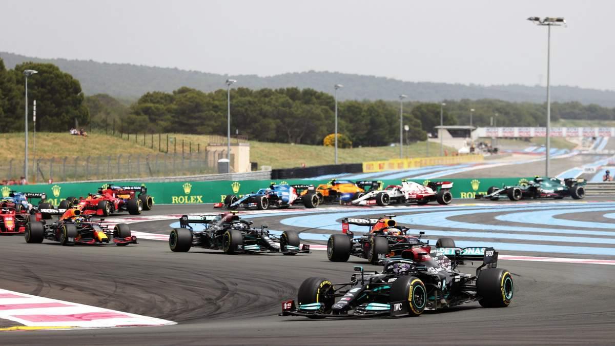 Формула 1: результаты Гран-при Франции-2021, обзор и видео