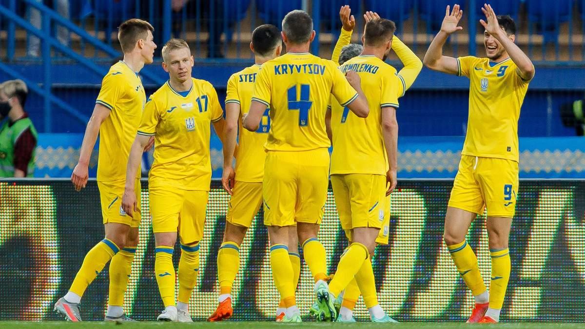 Украина - Австрия на Евро-2020: в России на победу сине-желтых поставили почти миллион рублей