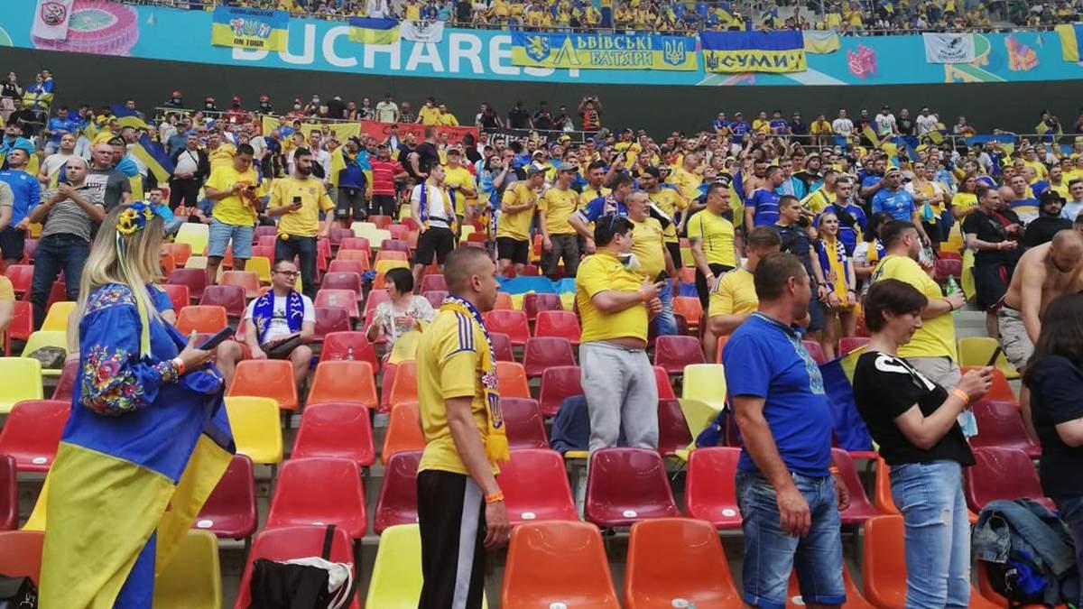 Футбольный хит Путин - ху*ло попал в трансляцию матча Украина – Австрия: его услышали даже в России