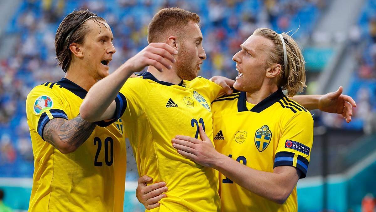 Швеція – Польща – результат, рахунок матчу Євро 2020