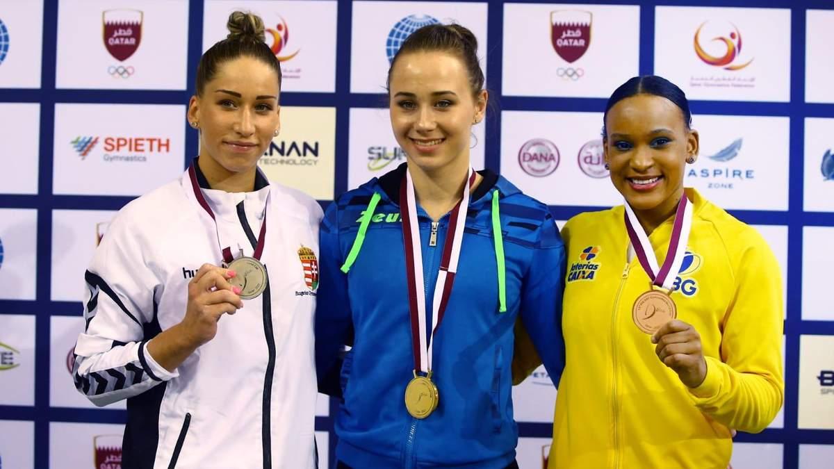 Діана Варінська перемогла на Кубку світу зі спортивної гімнастики