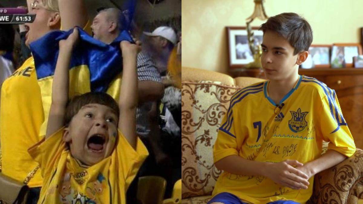 Як змінився хлопчик, який став символом Євро-2012 – відео