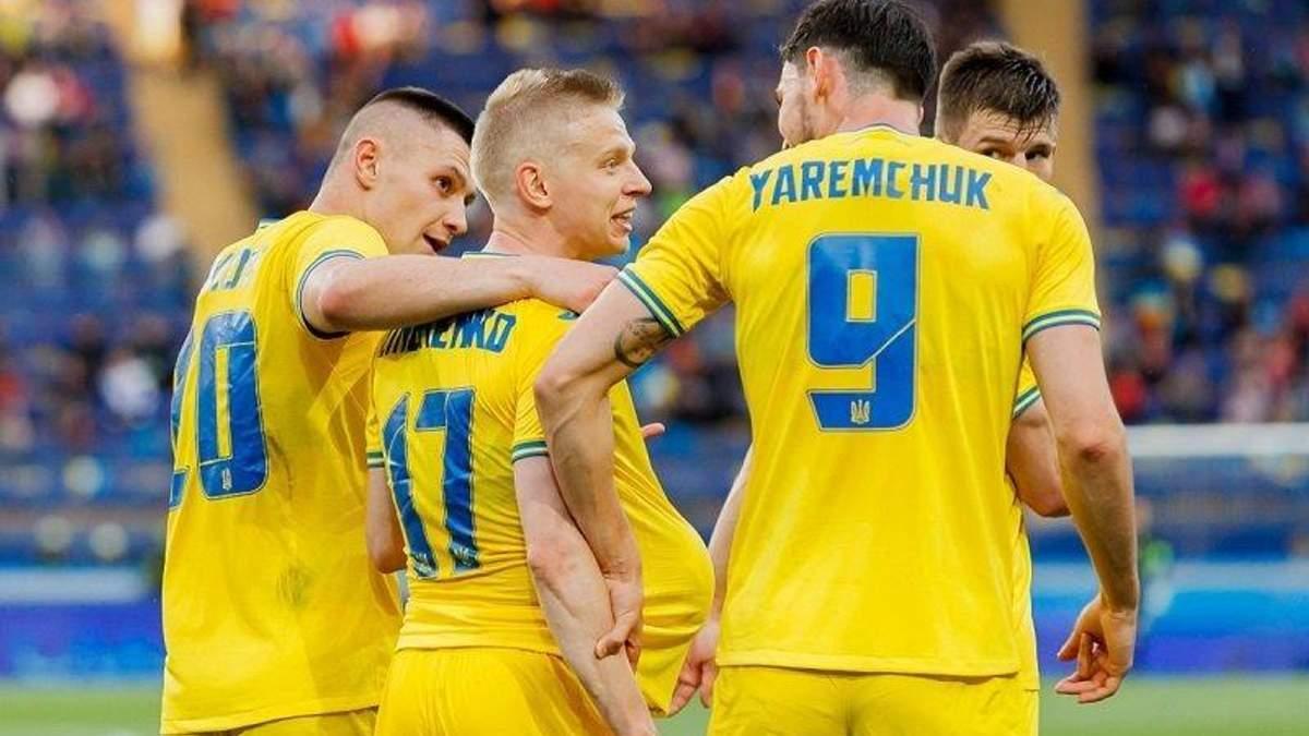 Україна – Швеція: стартові склади команд