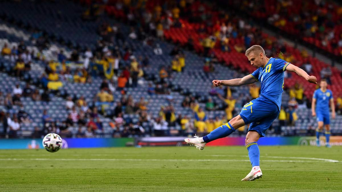 Швеція - Україна: Зінченко відкрив рахунок у матчі Євро-2020