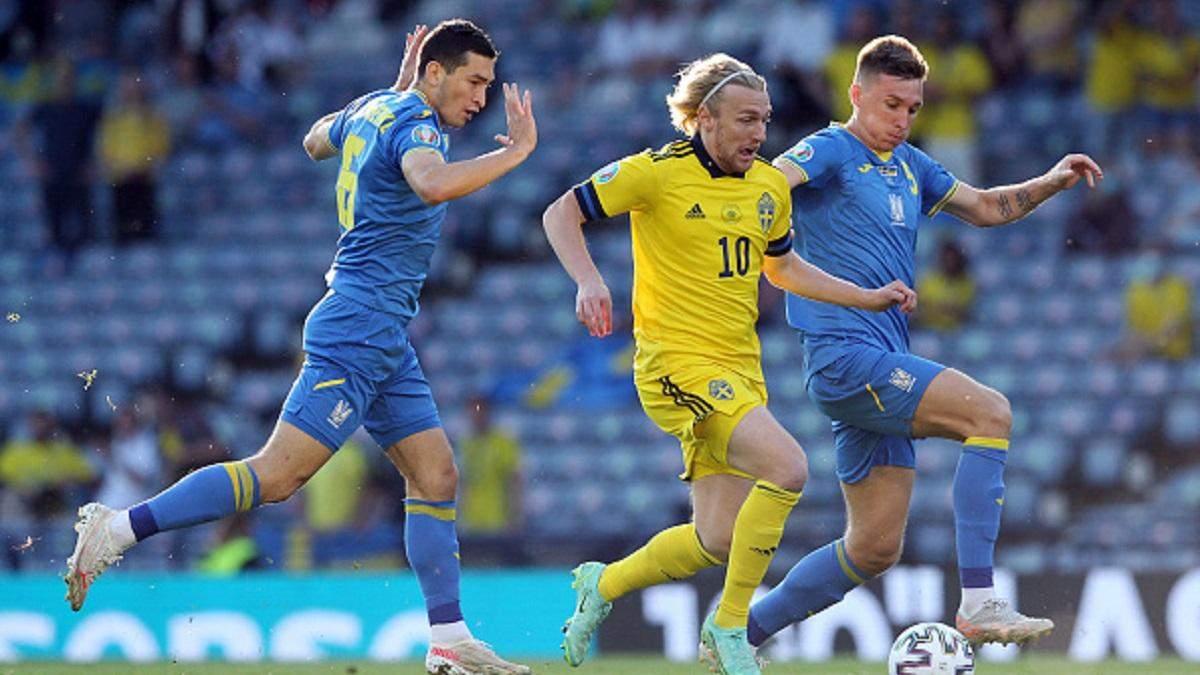 Швеція - Україна, Євро-2020: Форсберг зрівняв рахунок матчу