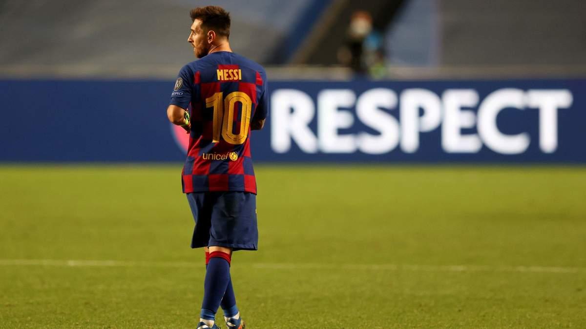 У Ліонеля Мессі закінчився контракт з Барселоною