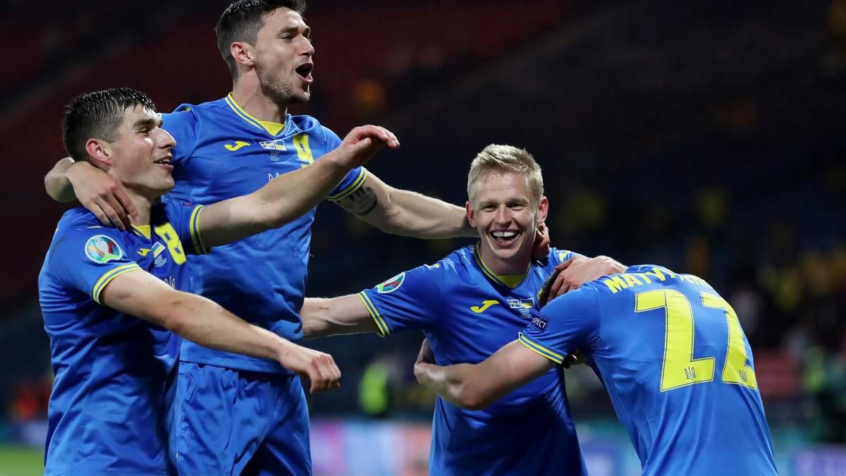 Україна - Англія: склади на матч 1/4 фіналу Євро 2020
