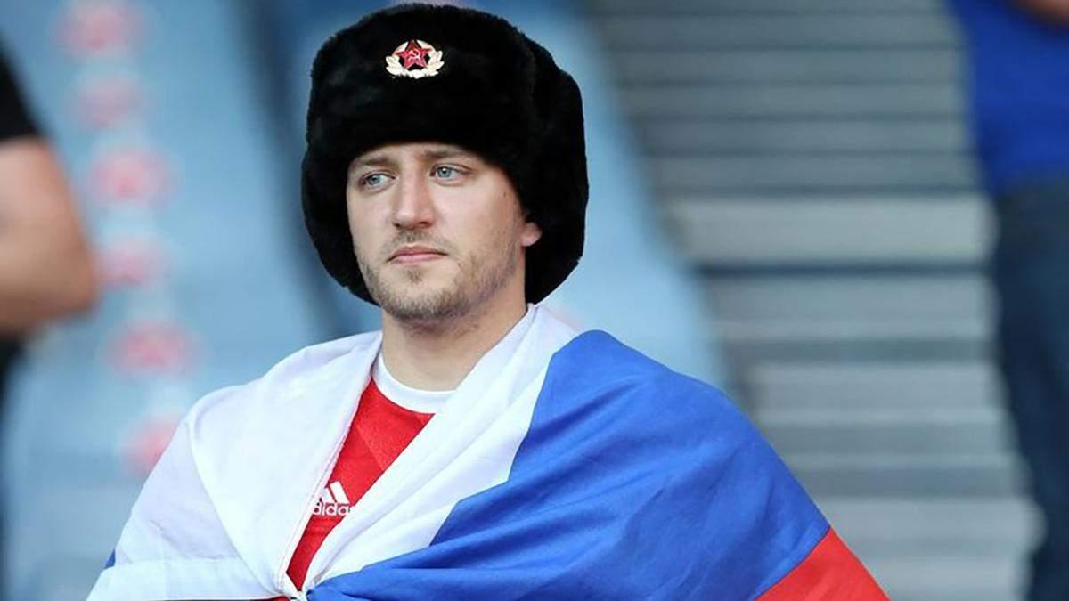 Пили пиво та горілку, – російський вболівальник забрехався про побиття на матчі Україна – Швеція