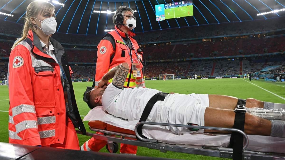 Леонардо Спінаццола отримав серйозну травму на Євро-2020
