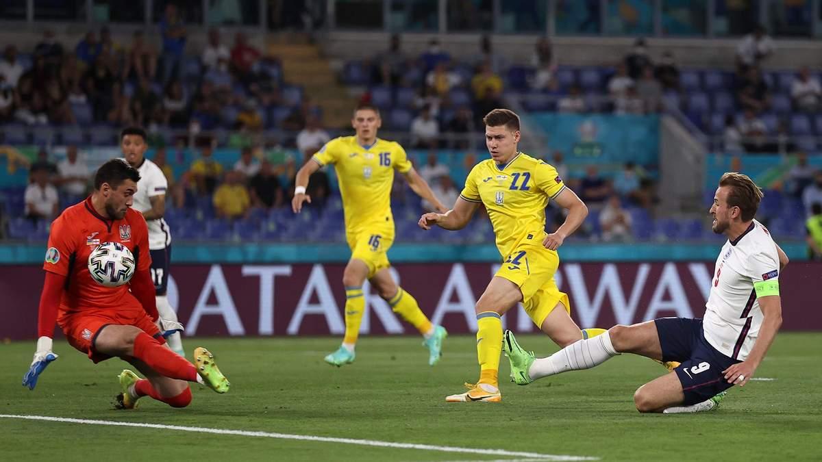 Кейн забив гол у ворота збірної України