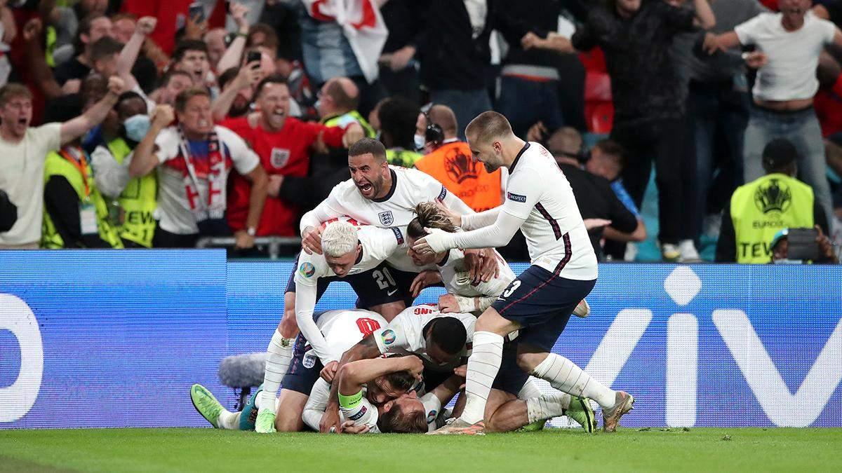 Англія – Данія – результат, рахунок матчу Євро 2020