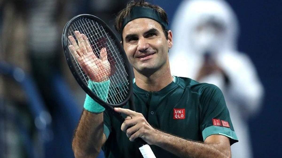 Федерер повторил уникальный рекорд Надаля