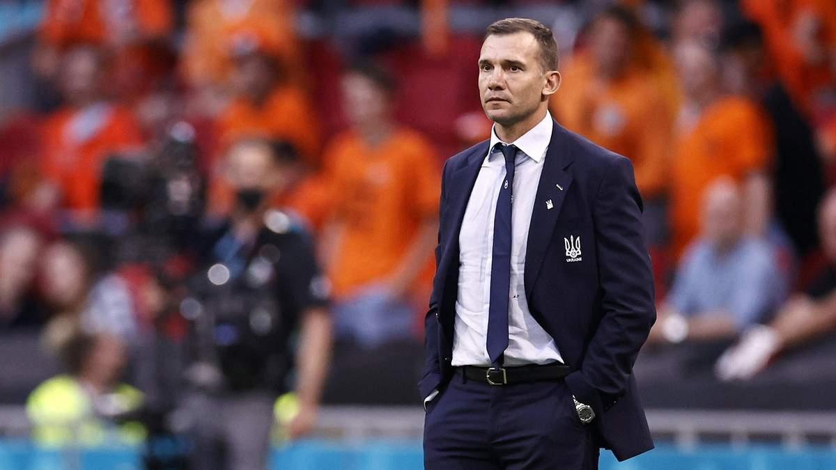Шевченко поблагодарил итальянцев за поддержку сборной Украины на Евро